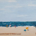 Arlene Cohen, At the Beach