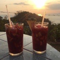 sangria-and-sunset