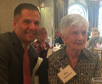 Fountains Resident Bea Lacativa is Honored at Centenarian Luncheon