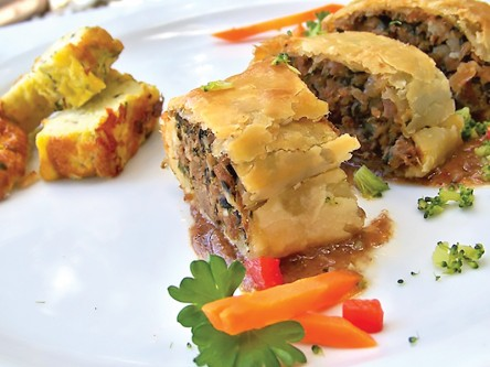 Thrive Dining Beef Brisket Pastry