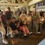 The Fountains residents enjoying the game!