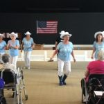 Gloria's Country Line Dancers at The Fountains!