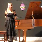 Featured pianist, Maryna Kysla